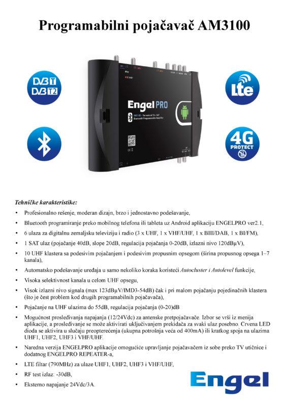 Uputstvo za ENGEL AM3100