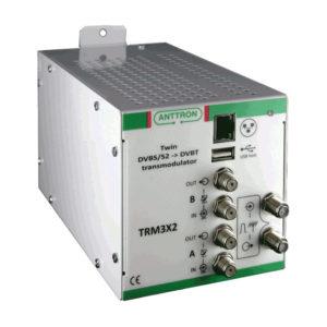 TRANSMODULATOR TWIN DVB-S/S2 - DVB-T ANTTRON TRM3X2